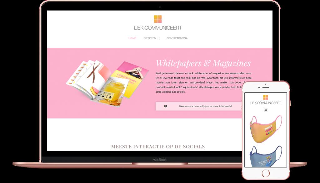 website liekcommuniceert.nl