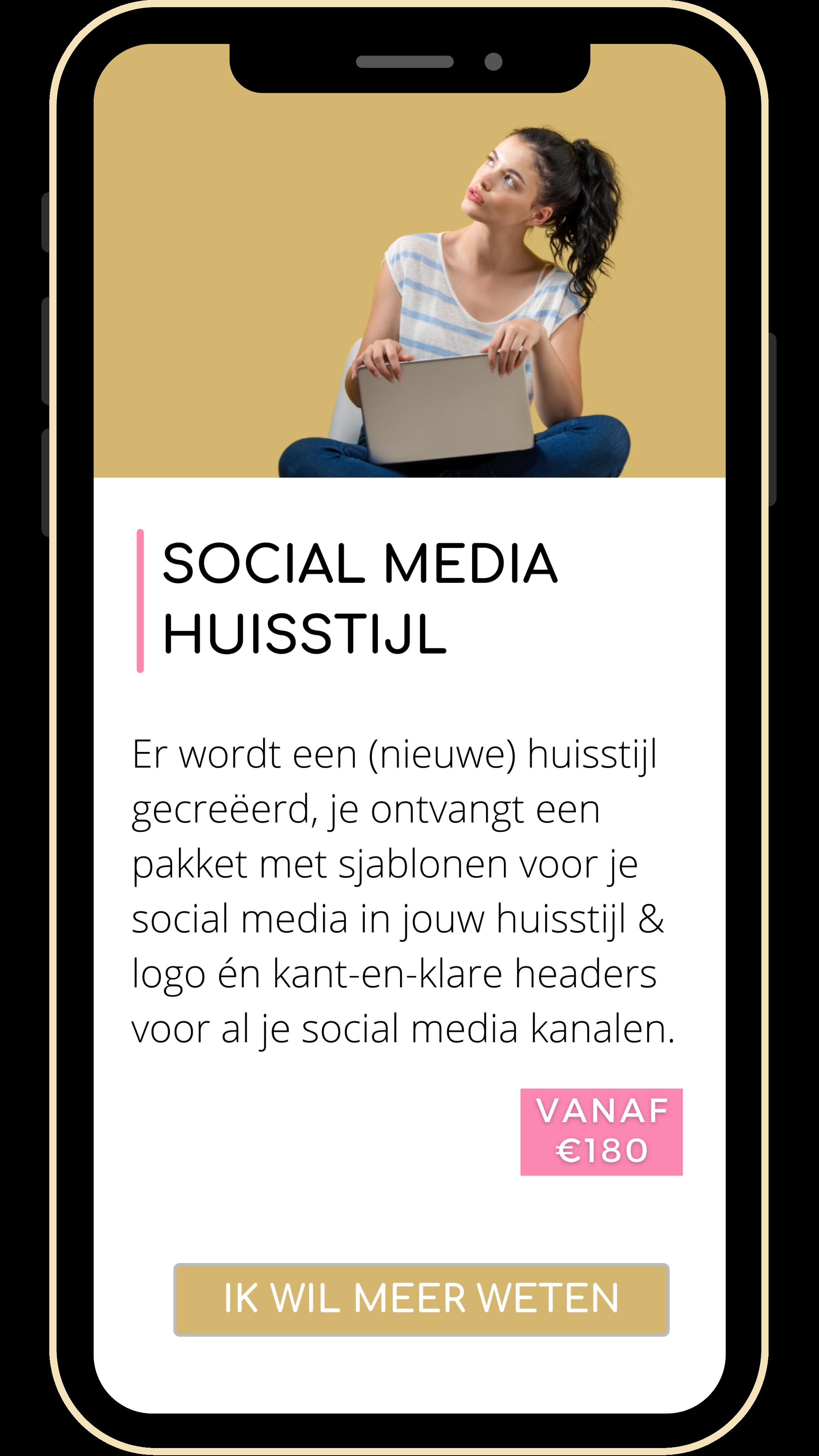 social media huisstijl