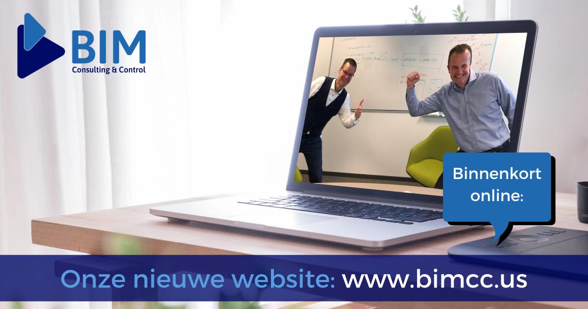Binnenkort is onze nieuwe website online_