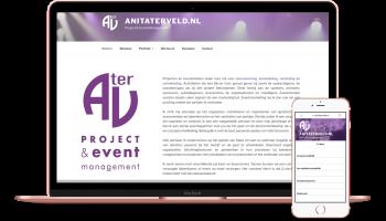 website anitaterveld.nl